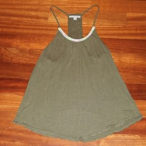 America Eagle, Olive Green tank, Women's Medium
